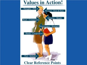 values-in-action