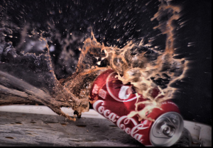 Exploding Coke Can